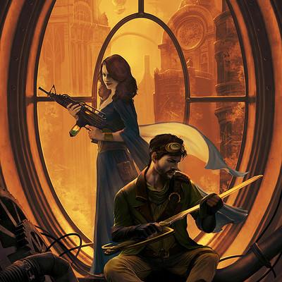 Emile denis illu steampunkrs