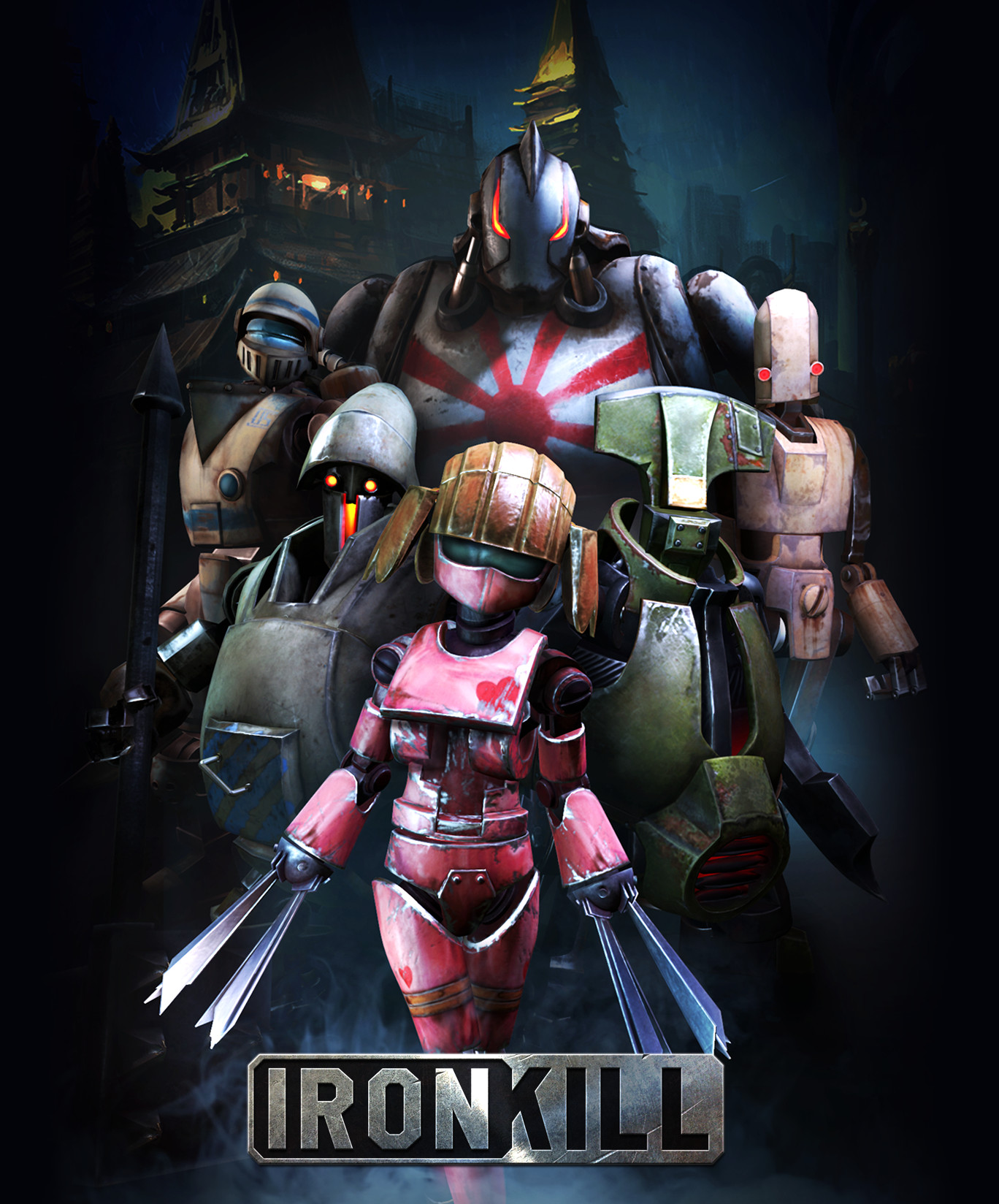 ironkill robot fighting game