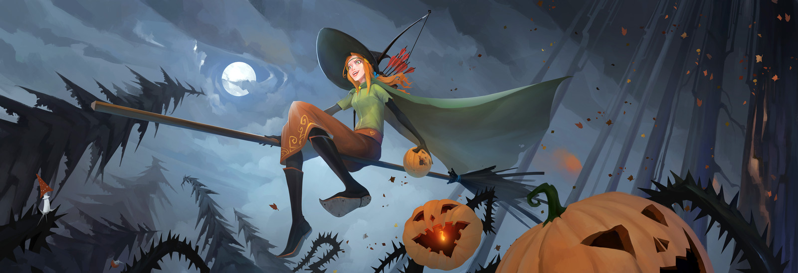 Halloween Alette