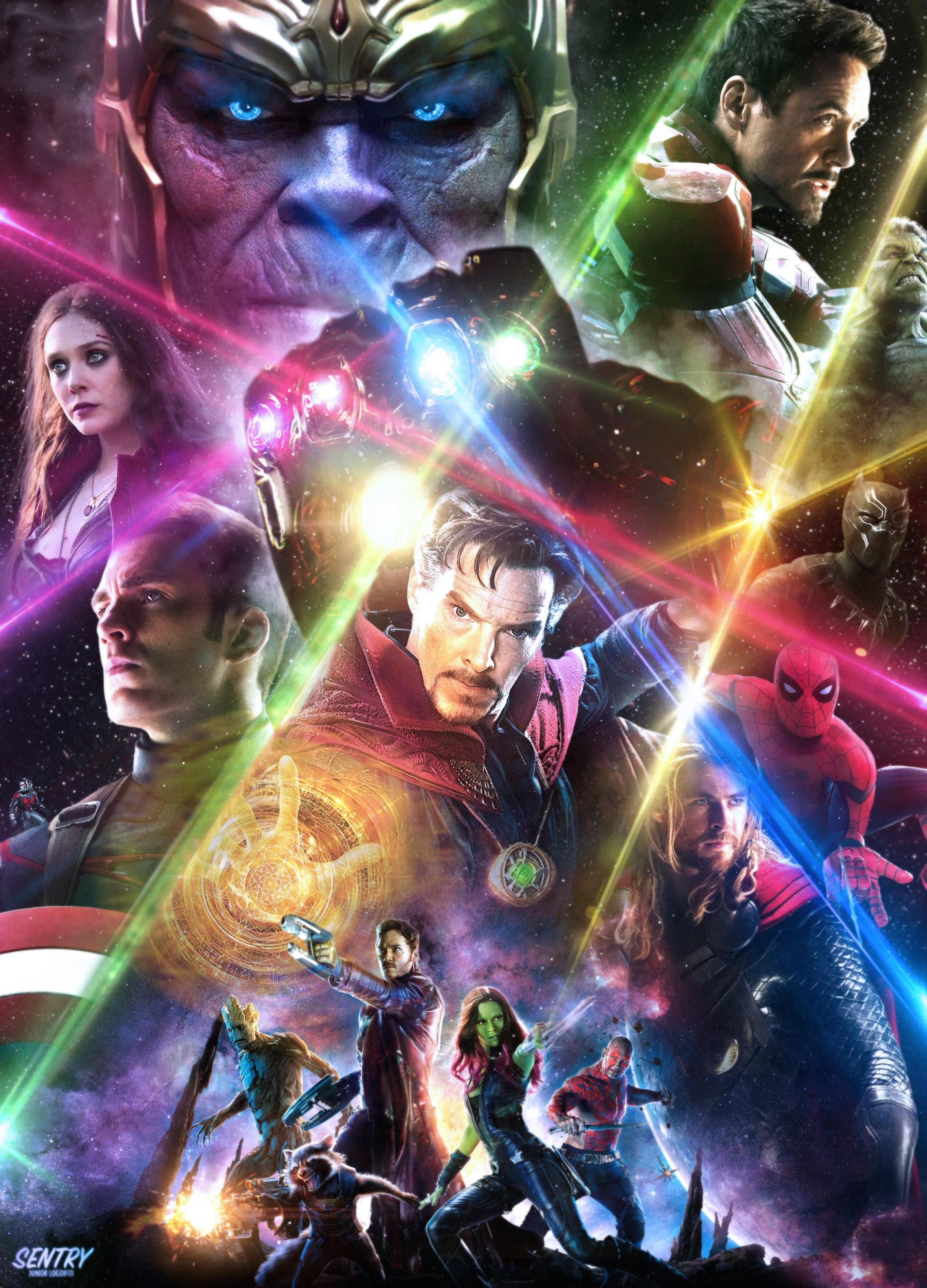 Junior Logoifiti Sentry Avengers Infinity War
