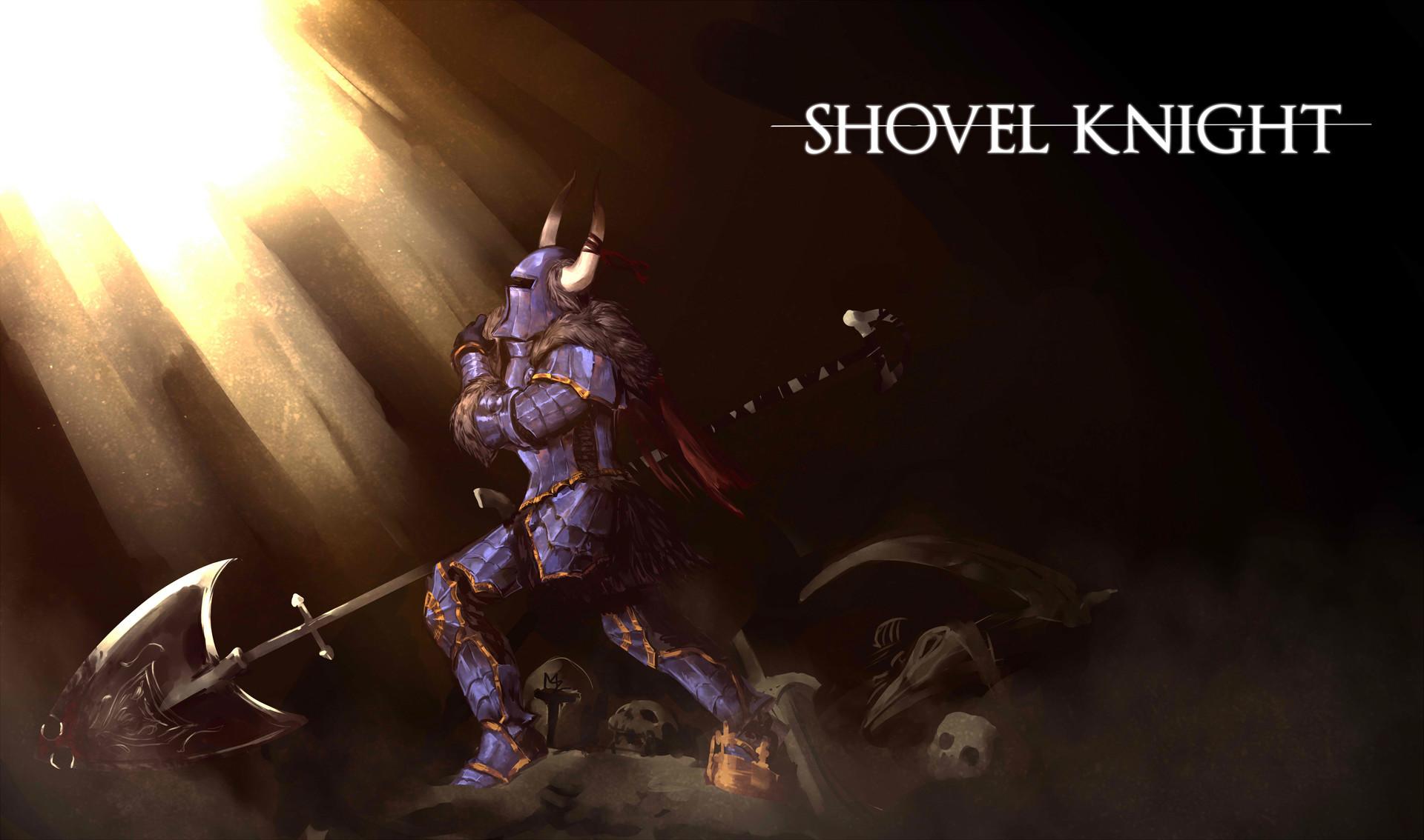 Artstation Shovel Knight X Dark Souls Christine Mccauley