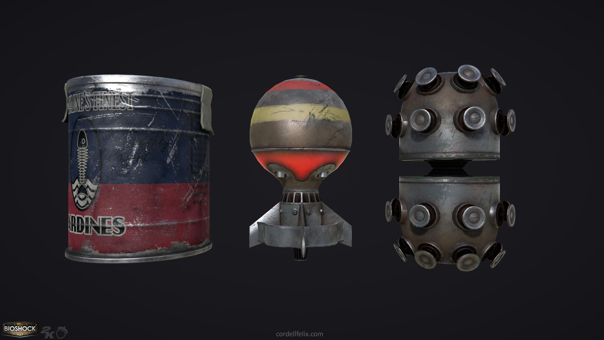 Cordell felix projectiles 01