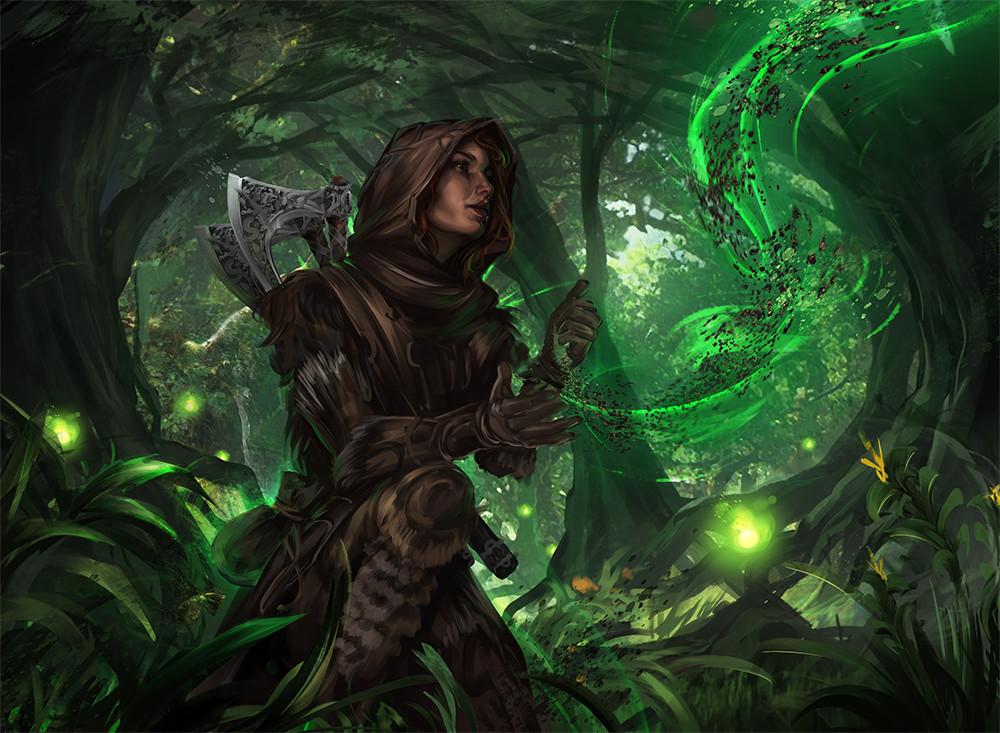 Wojtek depczynski druidic lore