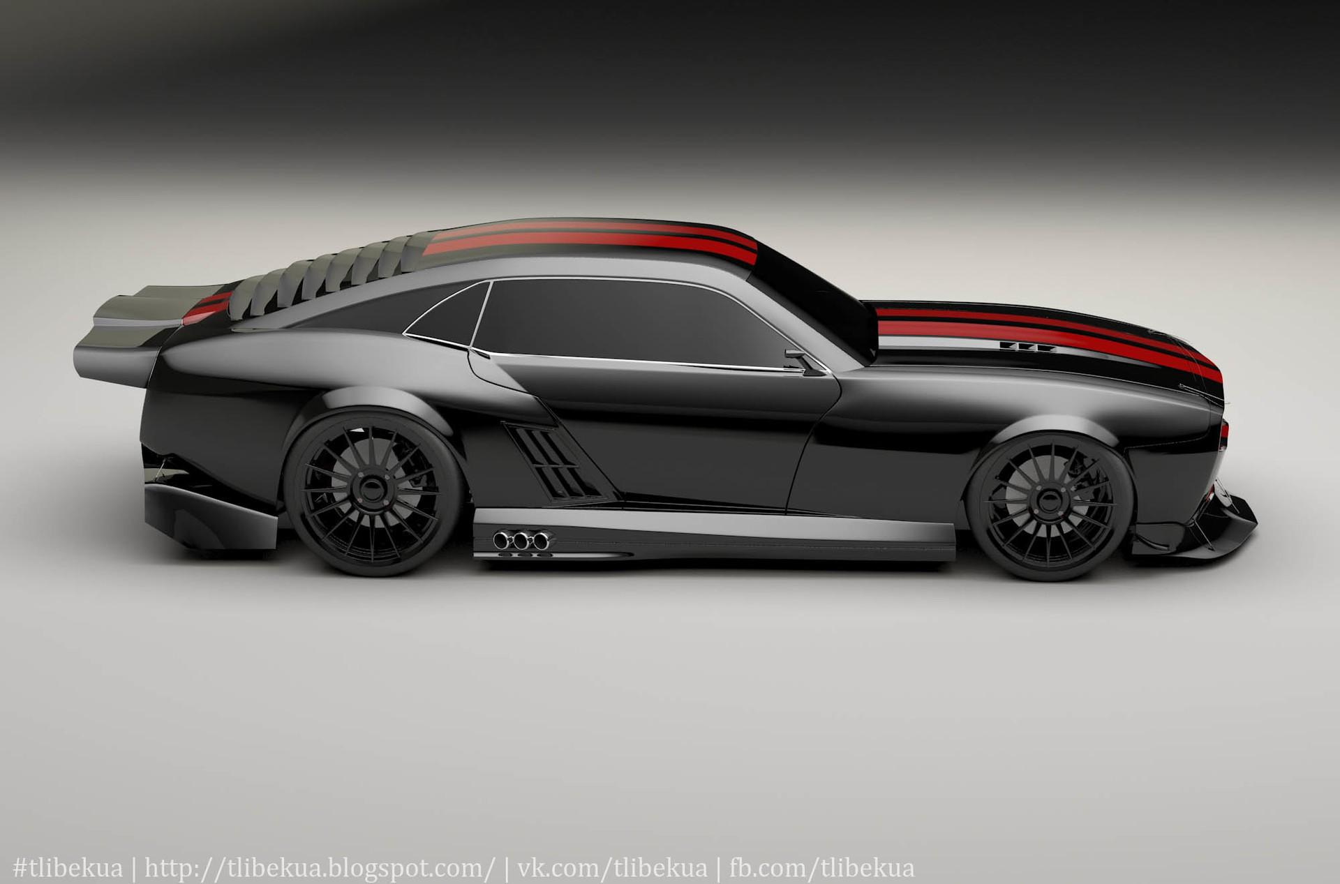 Design A Car >> Kasim Tlibekov - Pontiac Firebird 2010
