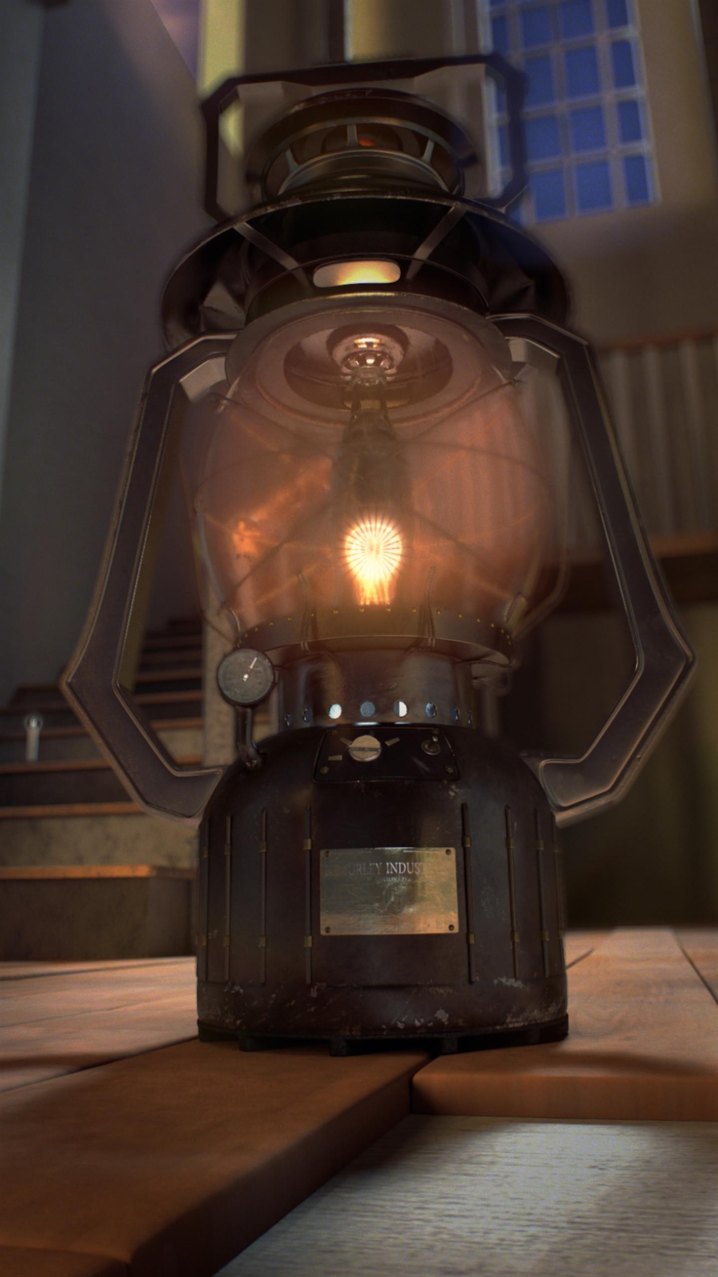 ArtStation - Steam-Fantasy Lantern, Antonio Neto