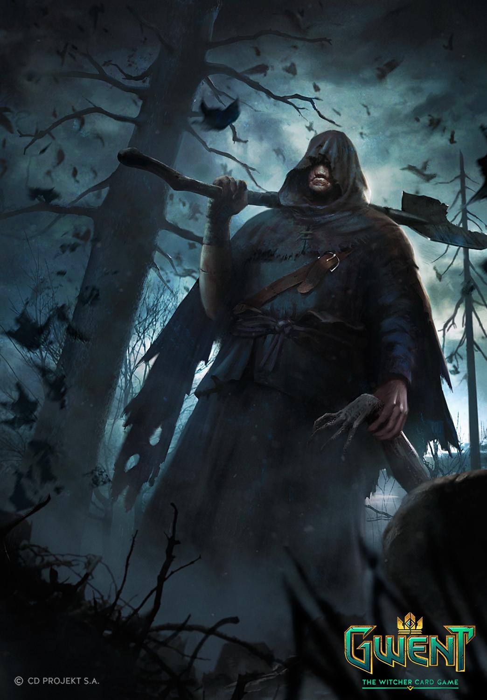 ArtStation - The Witcher 3: Fiend, Marek Madej
