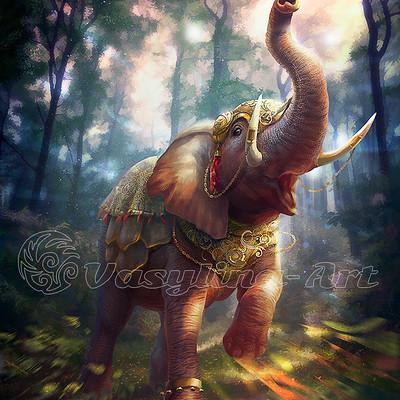 Vasilyna holod elephant