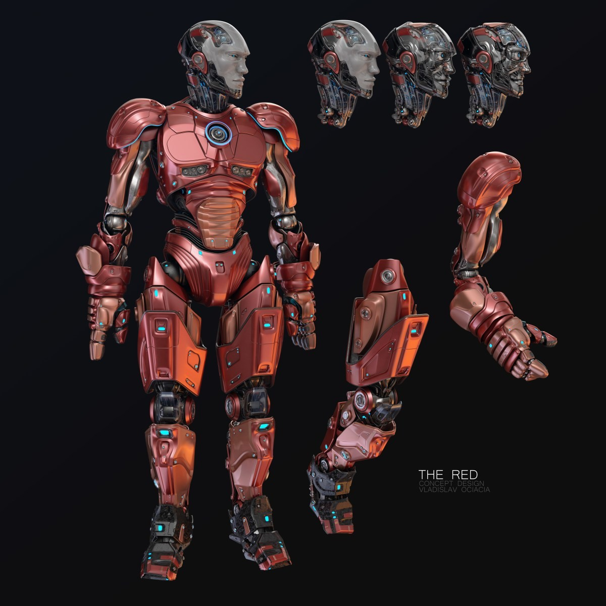 Vladislav ociacia the red robot 3