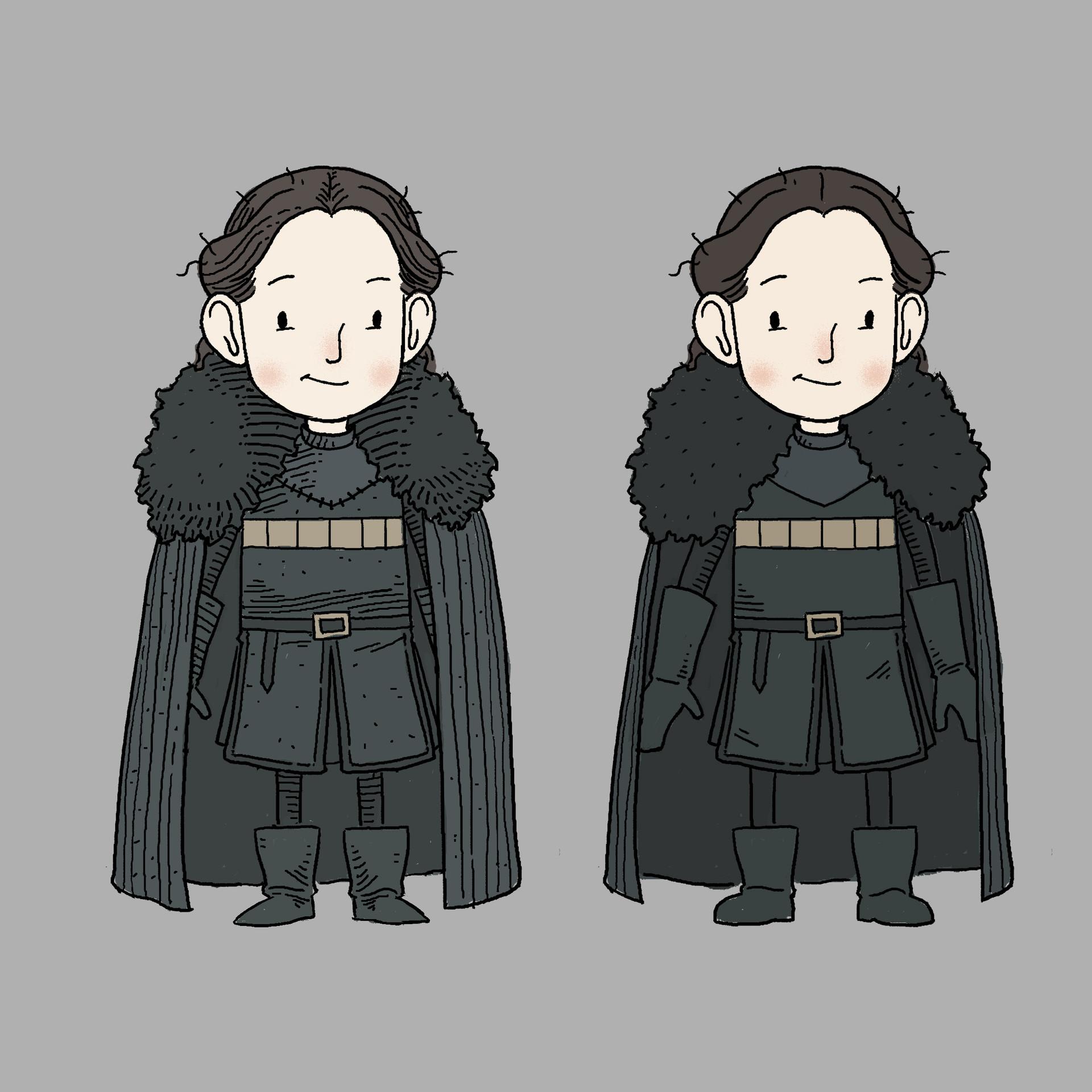 Andrew sebastian kwan lady mormont design 2