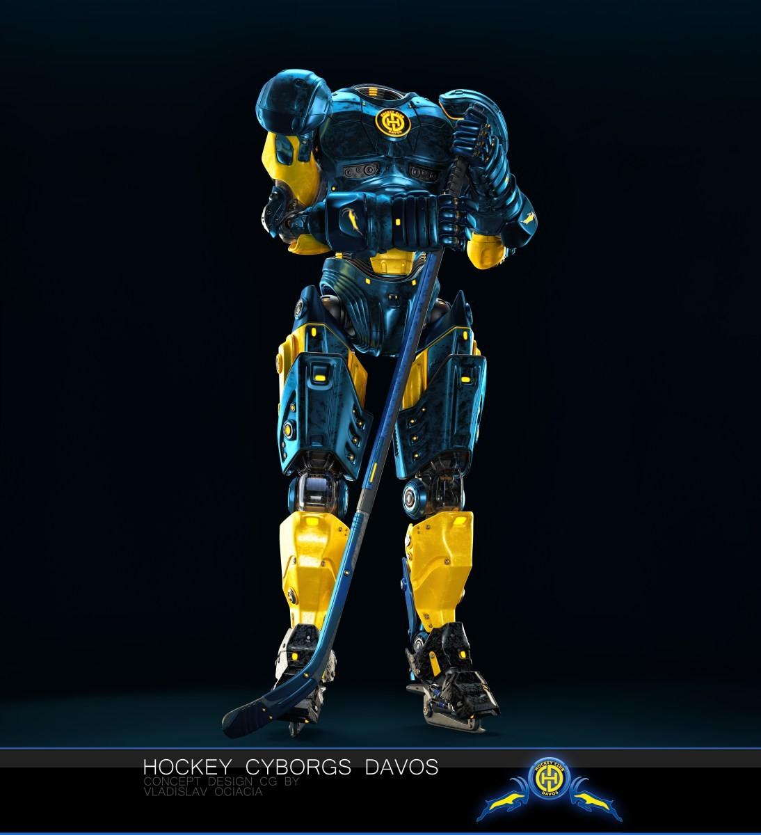 Vladislav ociacia hockey player robots 7