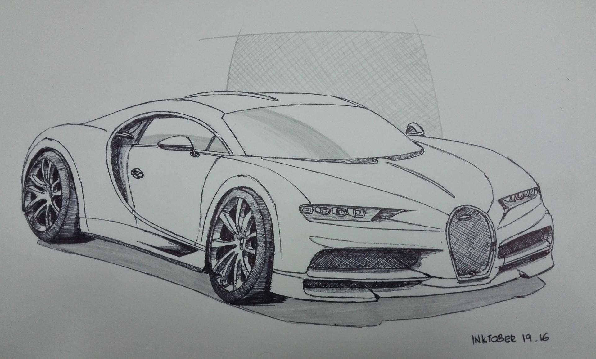 Classic Car Sketches