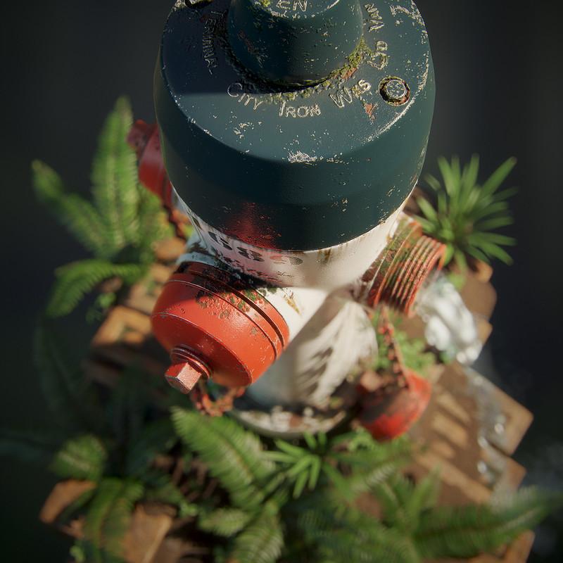 Fire Hydrant - Diorama