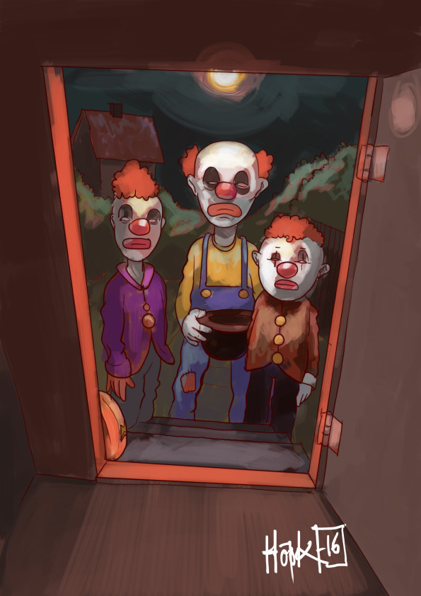 Niklas hook clown