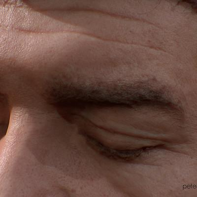 Pete mc nally peteheadscan closeup