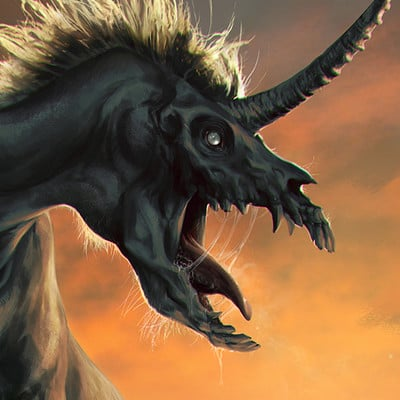 Anna podedworna nightmare horse