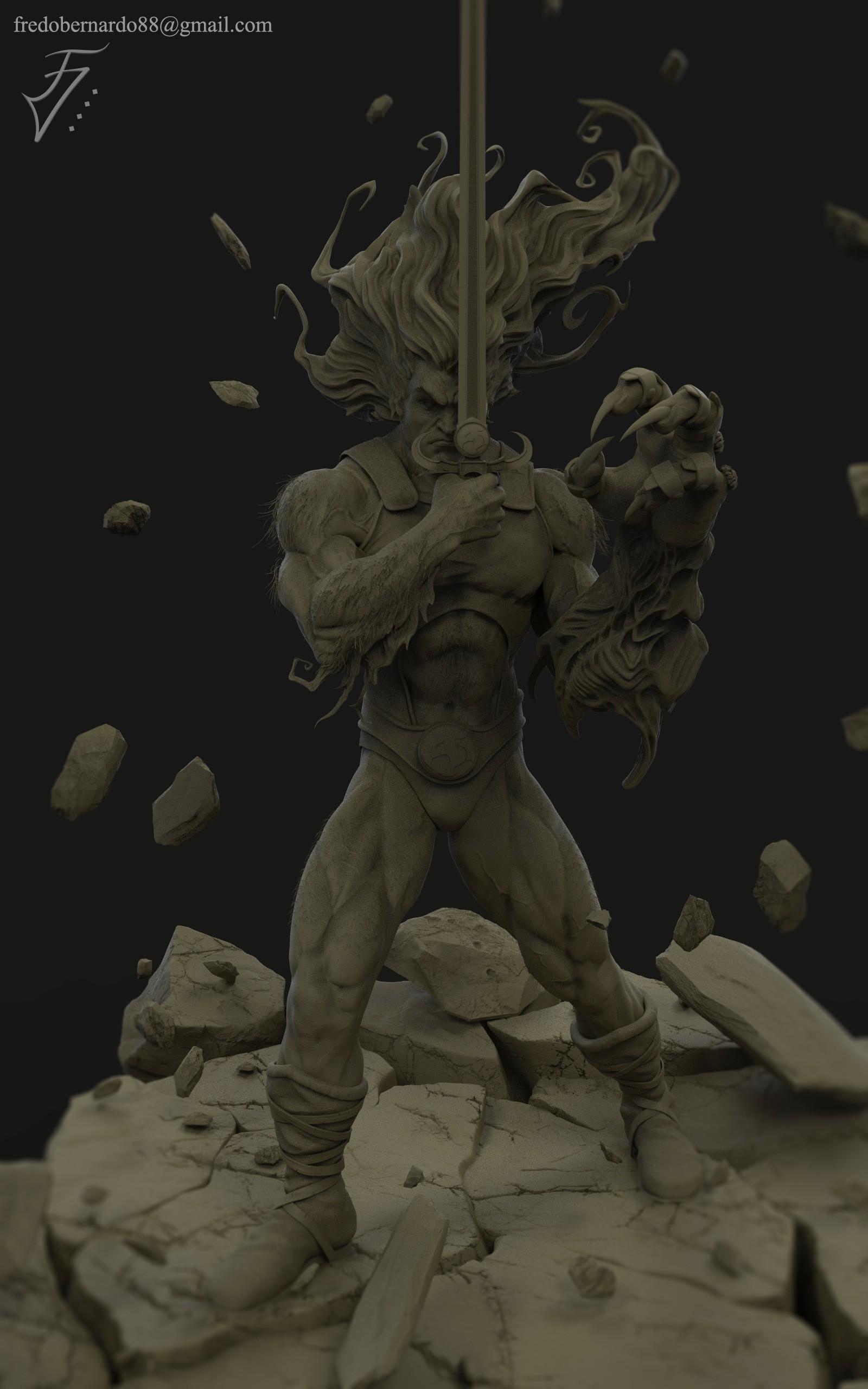 Fredo viktor lion o clay