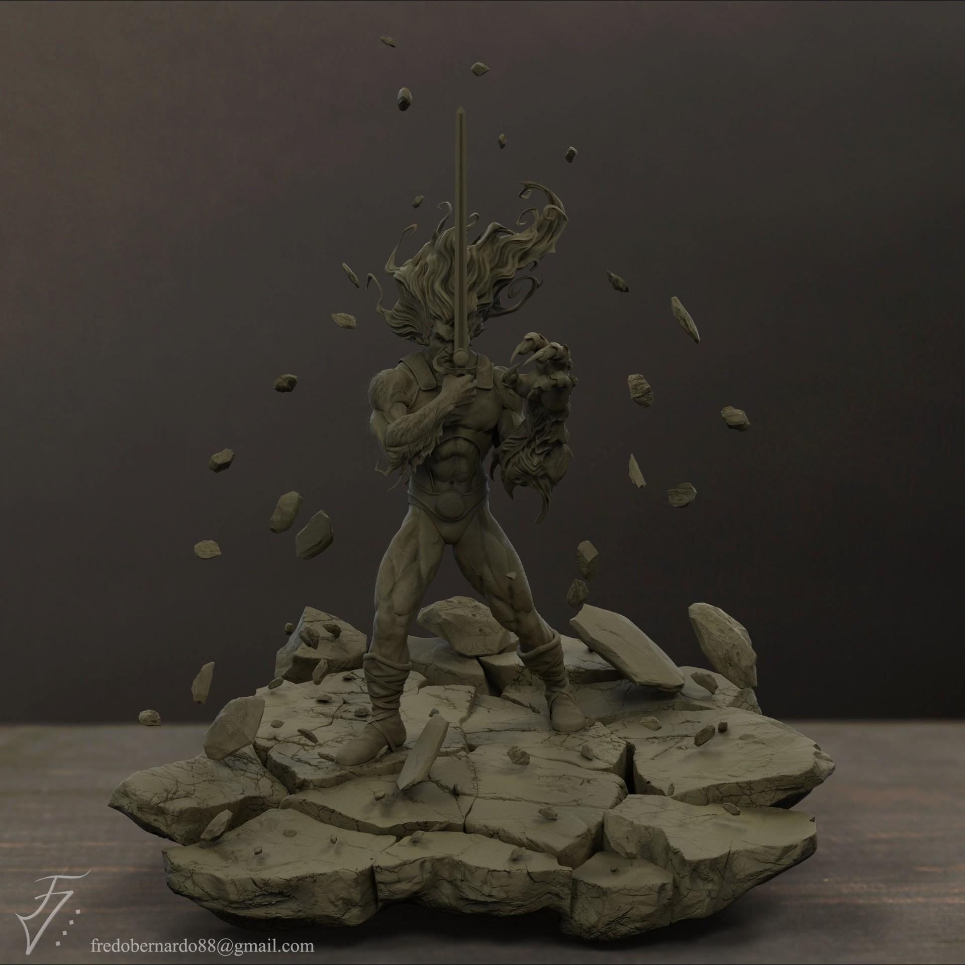 Fredo viktor lion o clay ver02