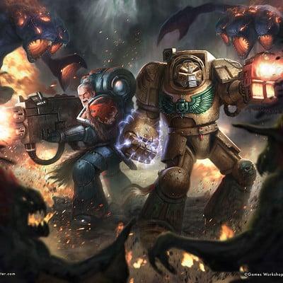 Rafael teruel vox tenebris warhammer 40k rafater