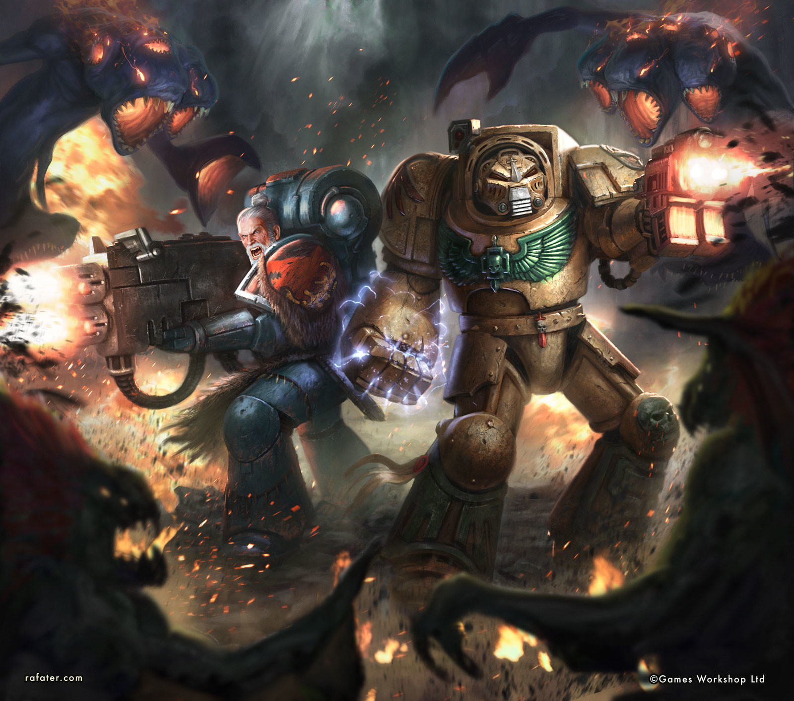 Warhammer 40K: Vox Tenebris cover