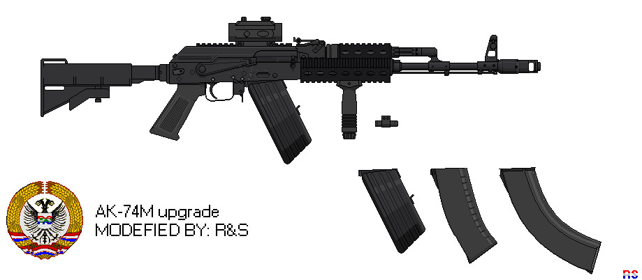 Ak74m: AK-74M UPGRADE BY: R&S, Ruud De Jong