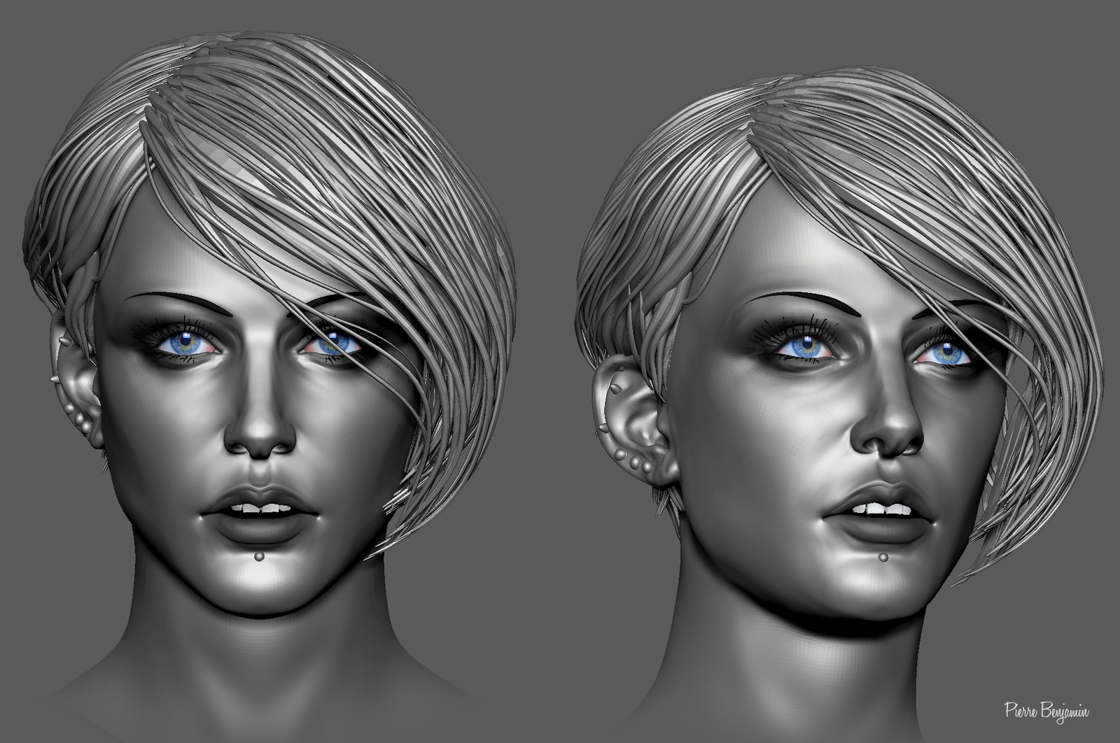 ZBrush Woman  sculpt WIP