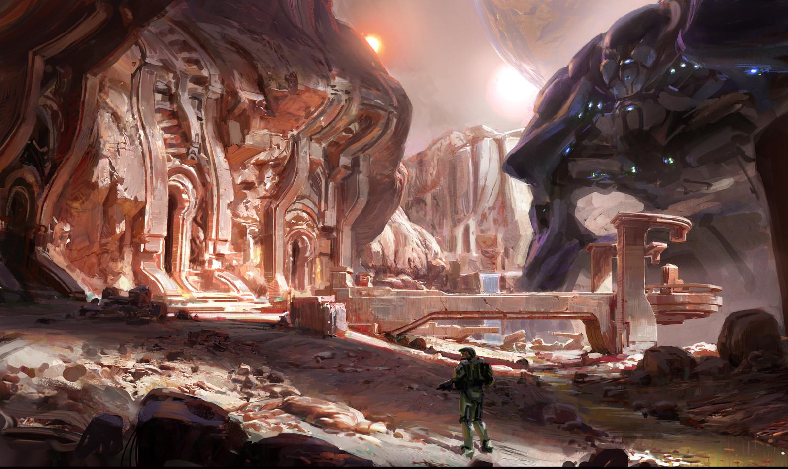Halo 5 landscape