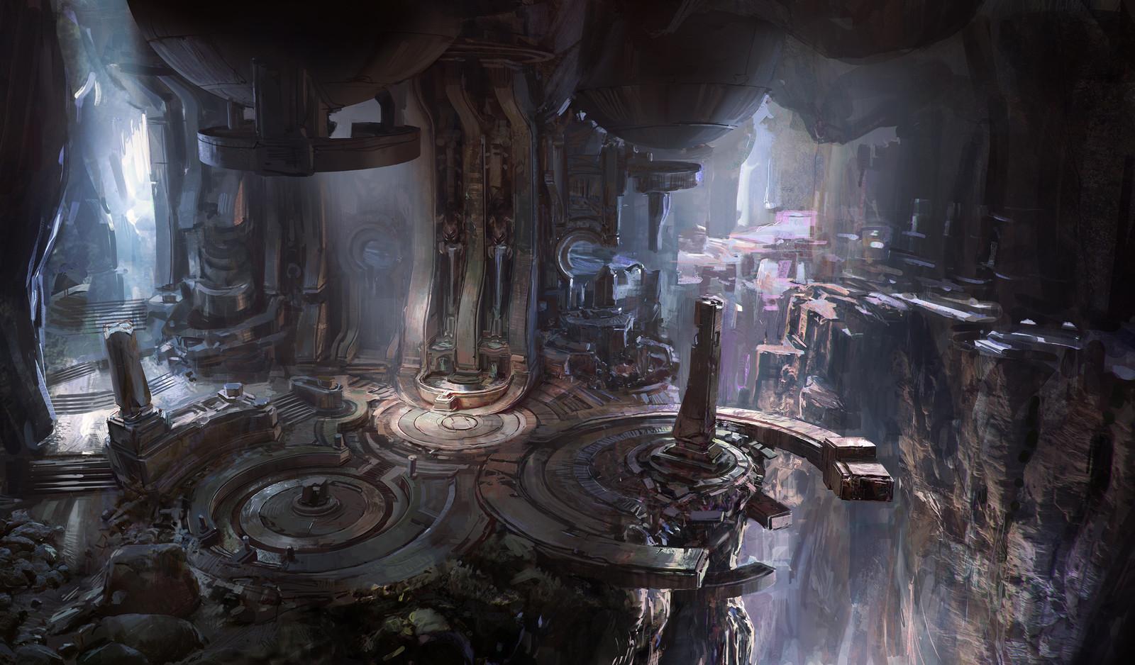 Halo 5 cave
