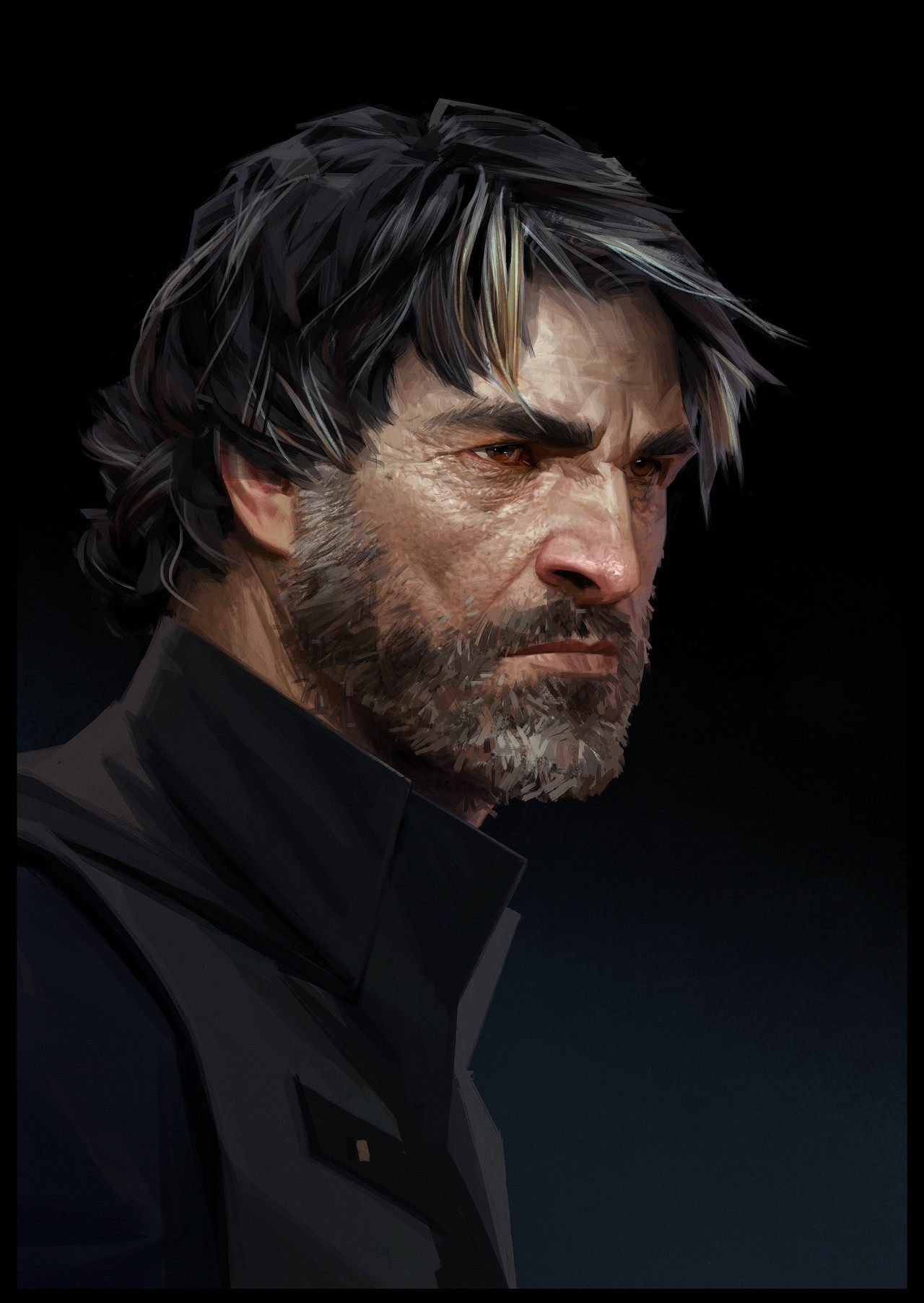 Sergey kolesov corvo portrait