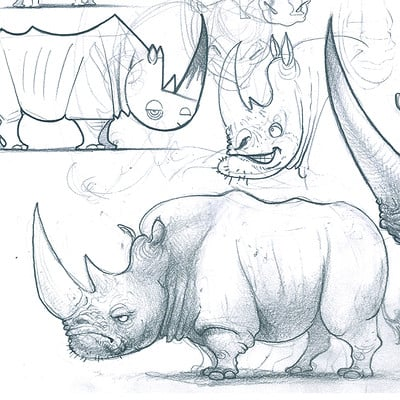 Edin durmisevic rhino design sketchbook page
