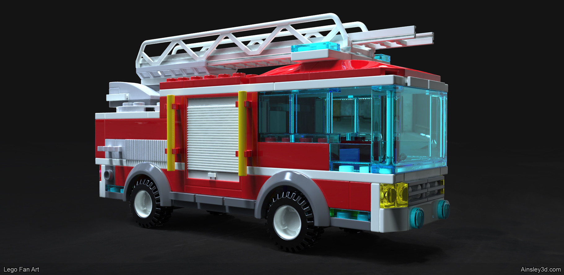 Ainsley Langford Lego Fire Truck