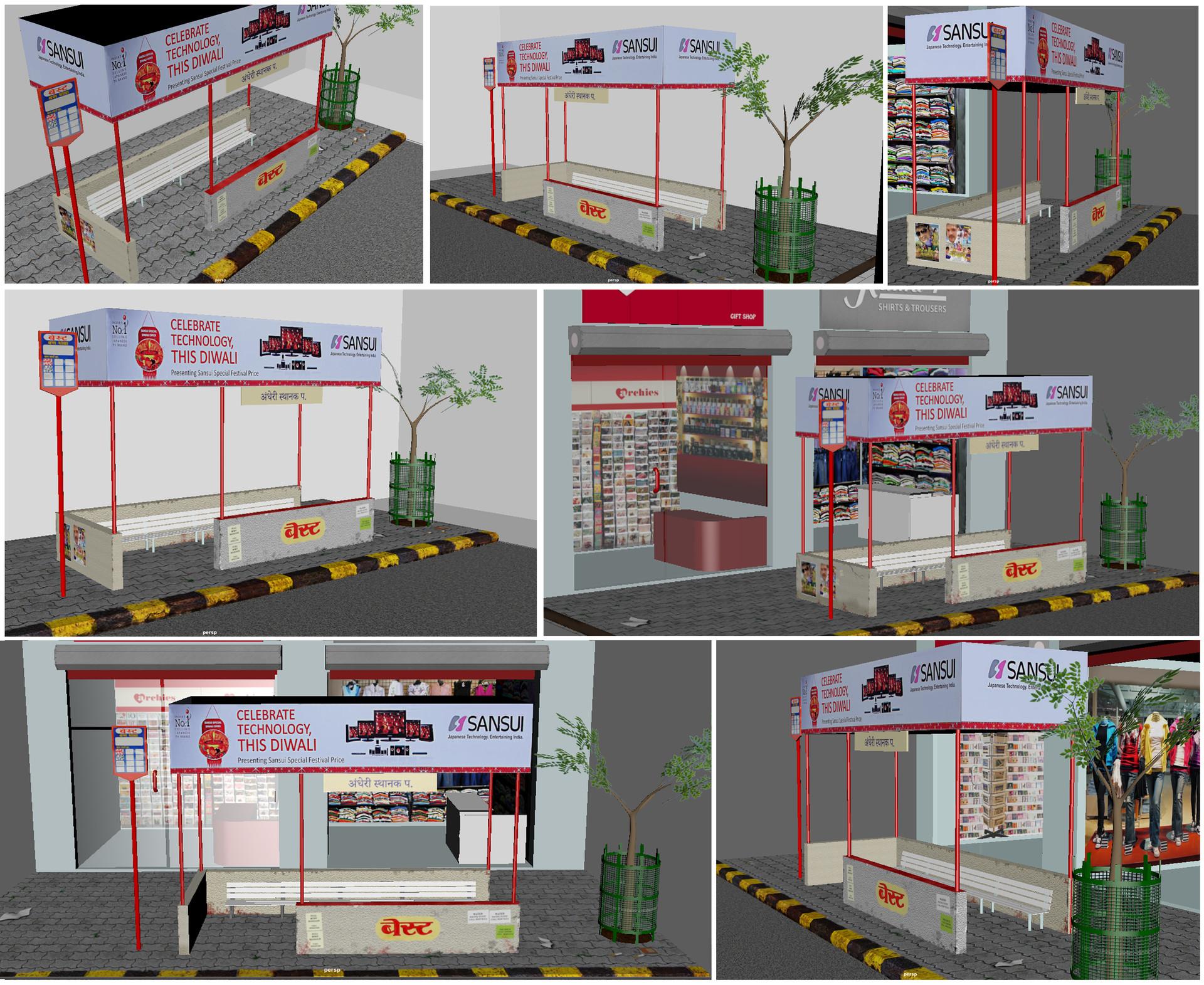 Rajesh sawant bus stop