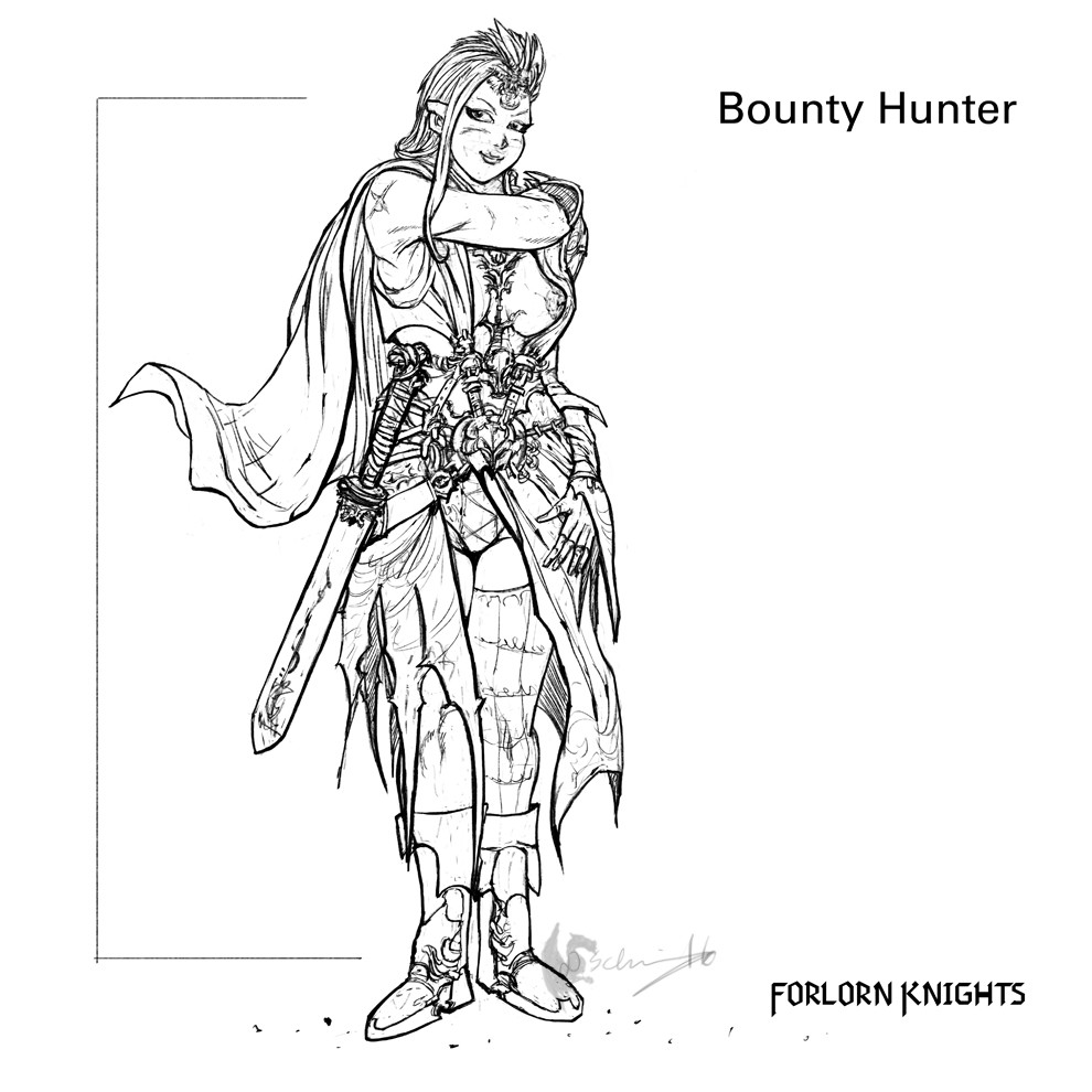 Bounty Hunter Concept 01