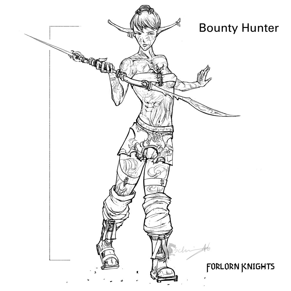 Bounty Hunter Concept 02