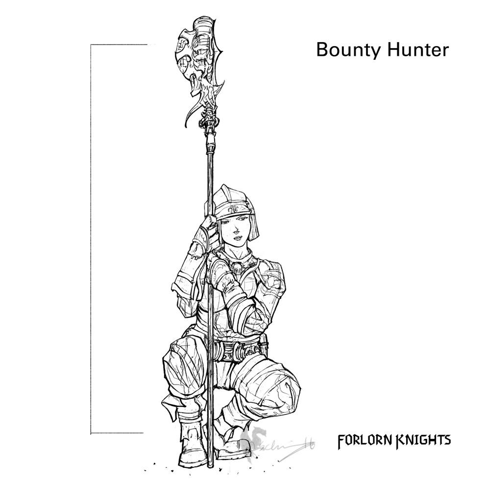 Bounty Hunter Concept 03