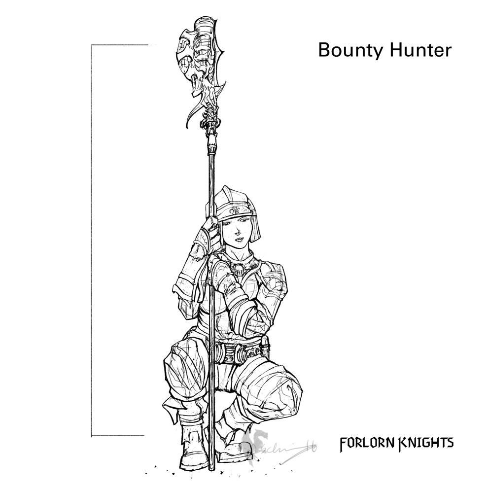 Bounty Hunter Concept 03