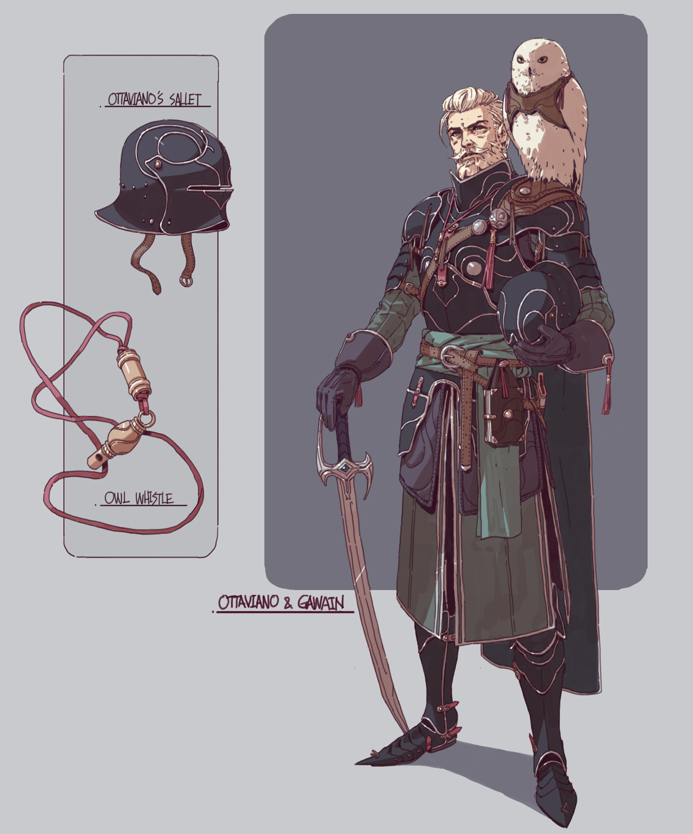 Character Costume Design Tips : Artstation fantasy character designs adam lee