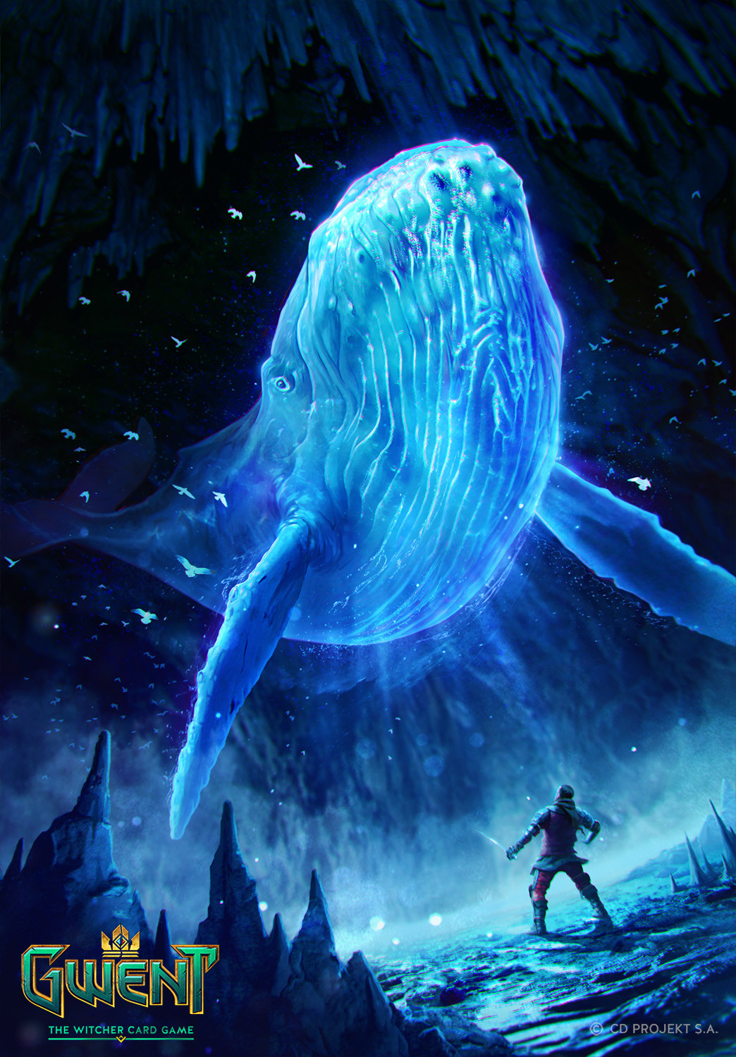 Kate Redesiuk Spectral Whale Gwent Card