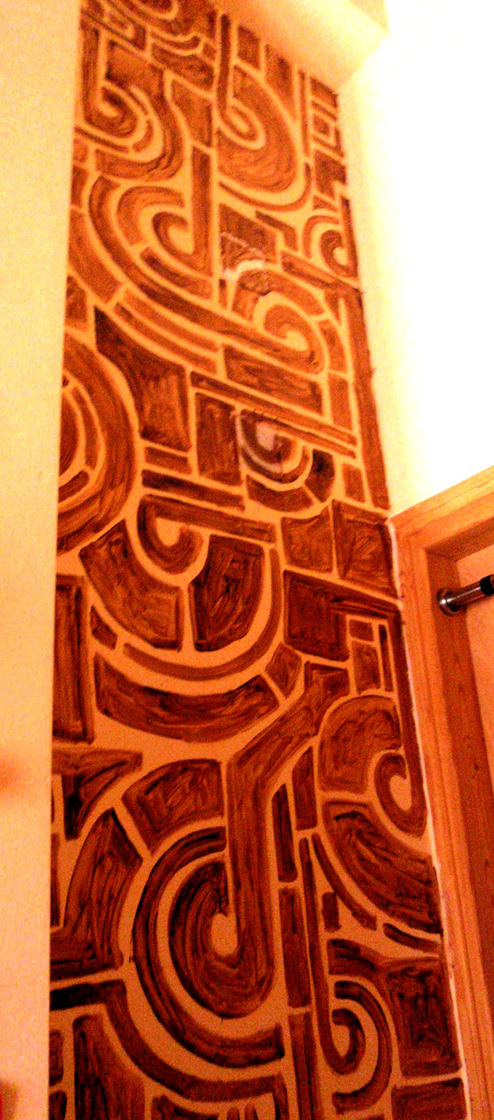 Bedroom tecture painting