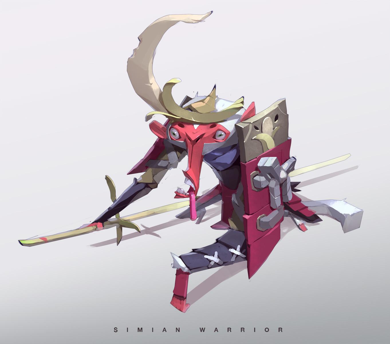 Simian Warrior