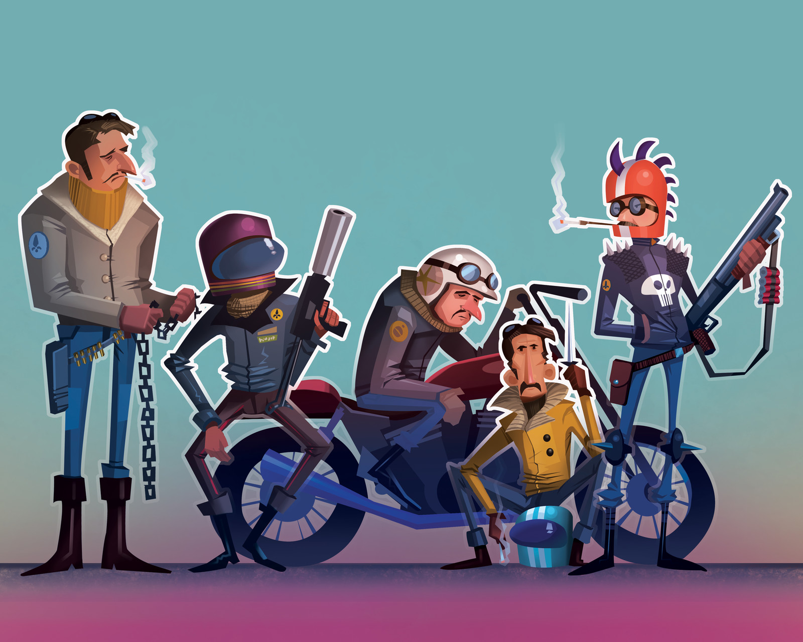 French Bikers