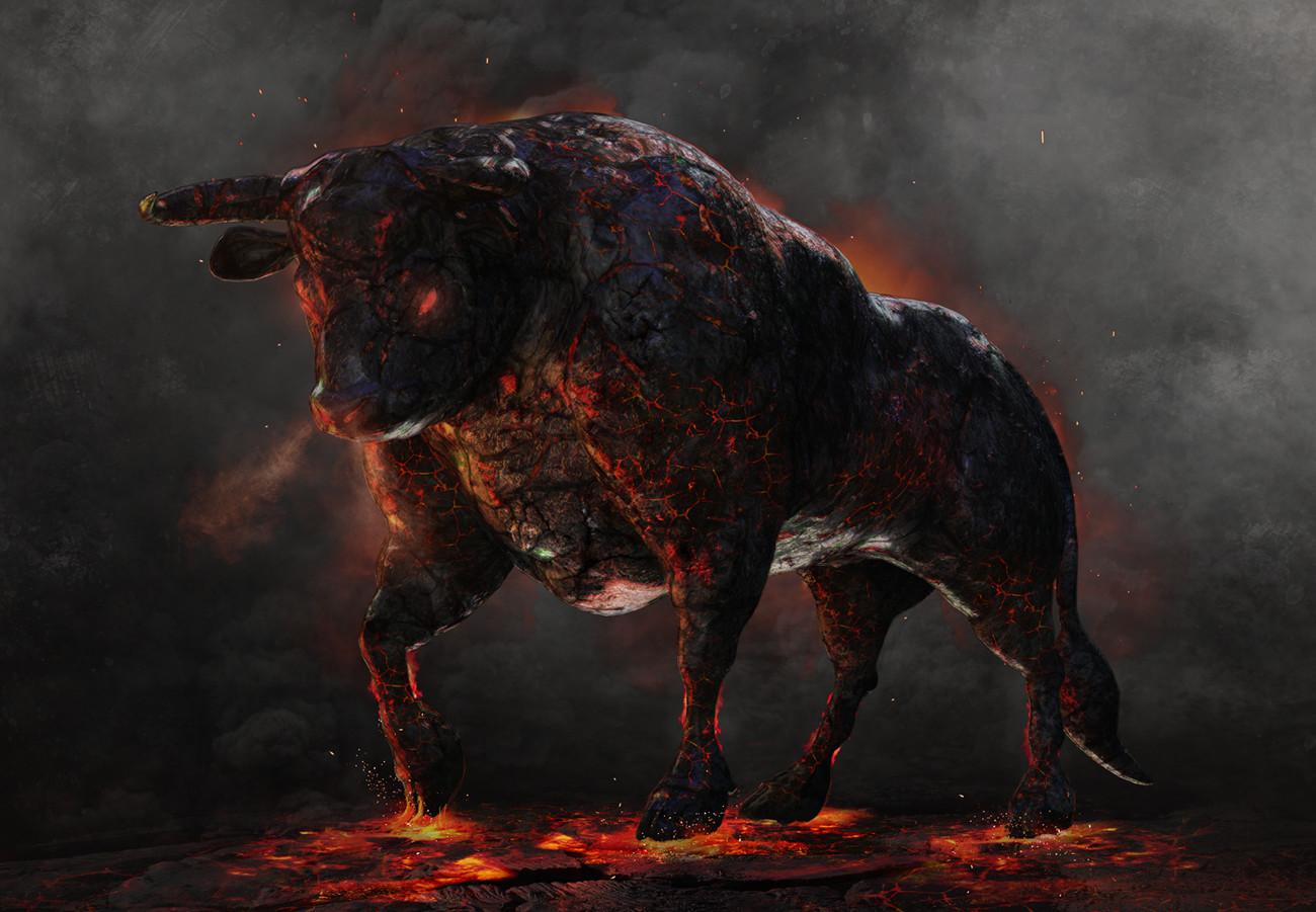 Guillem h pongiluppi 21 mythic battles colchide bull guillemhp