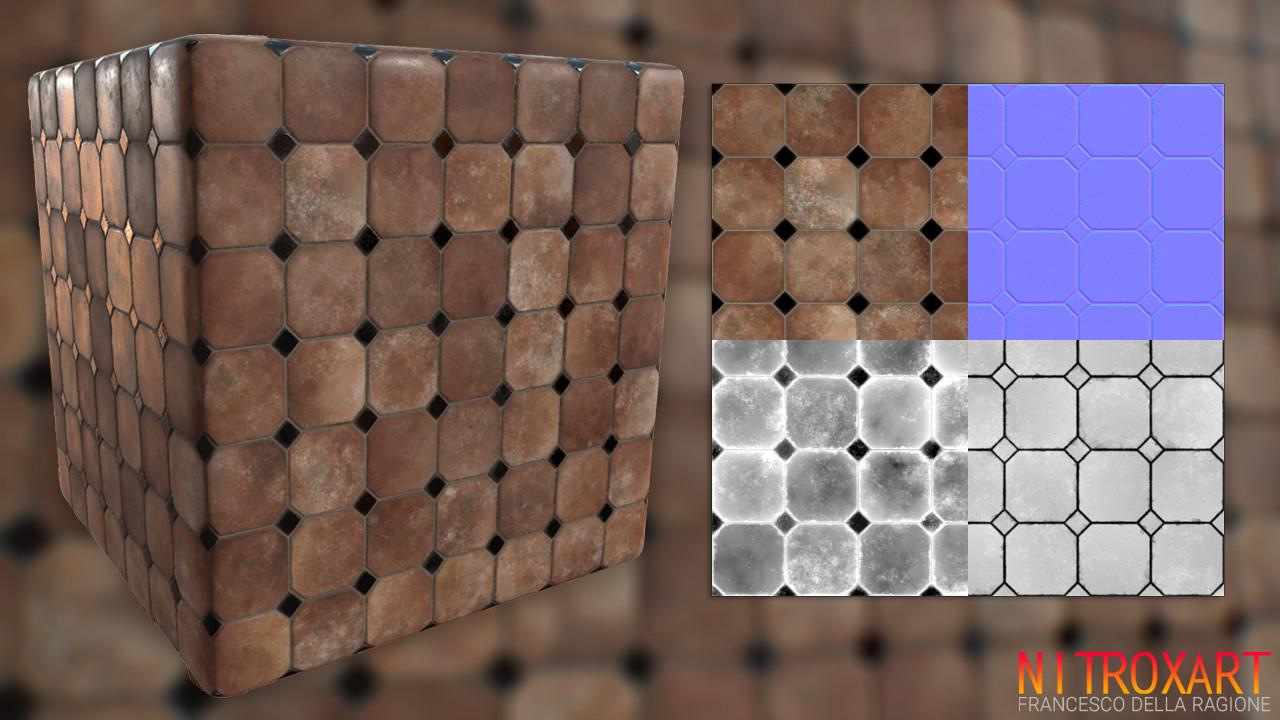 Nice 12X24 Ceiling Tile Thick 12X24 Ceramic Tile Patterns Round 1930S Floor Tiles 1X1 Ceramic Tile Young 2 X4 Ceiling Tiles Yellow3D Glass Tile Backsplash ArtStation   Ceramic Tiles Substance, Francesco Della Ragione