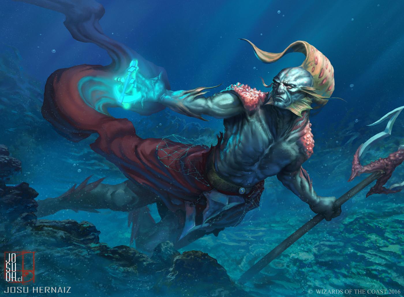 Thrasios, Triton Hero