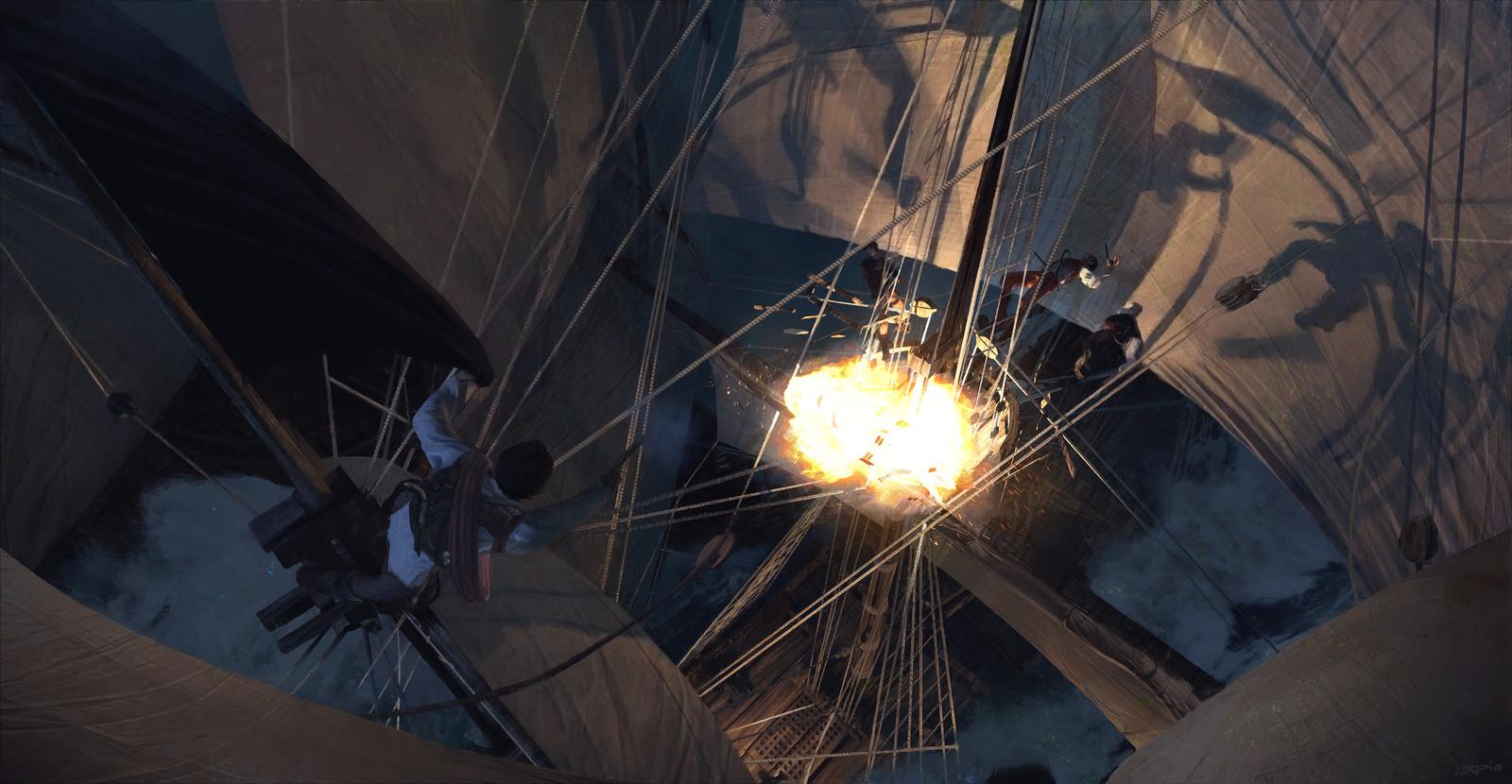 Sails and Shadows