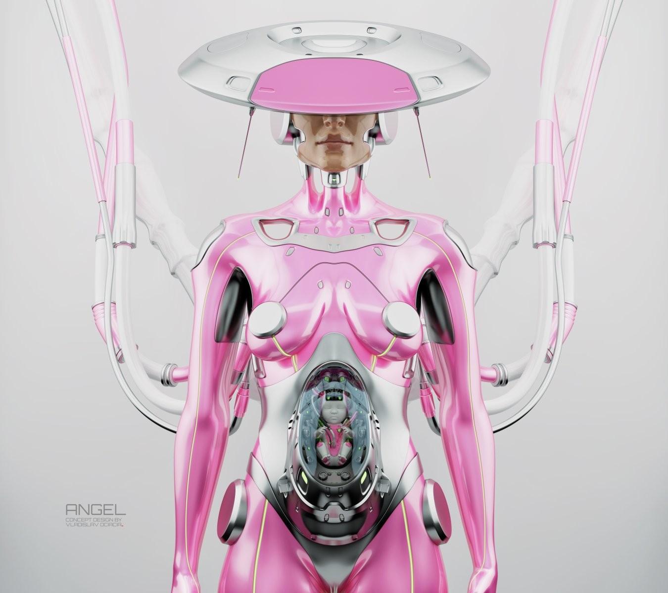 Vladislav ociacia robot woman 7