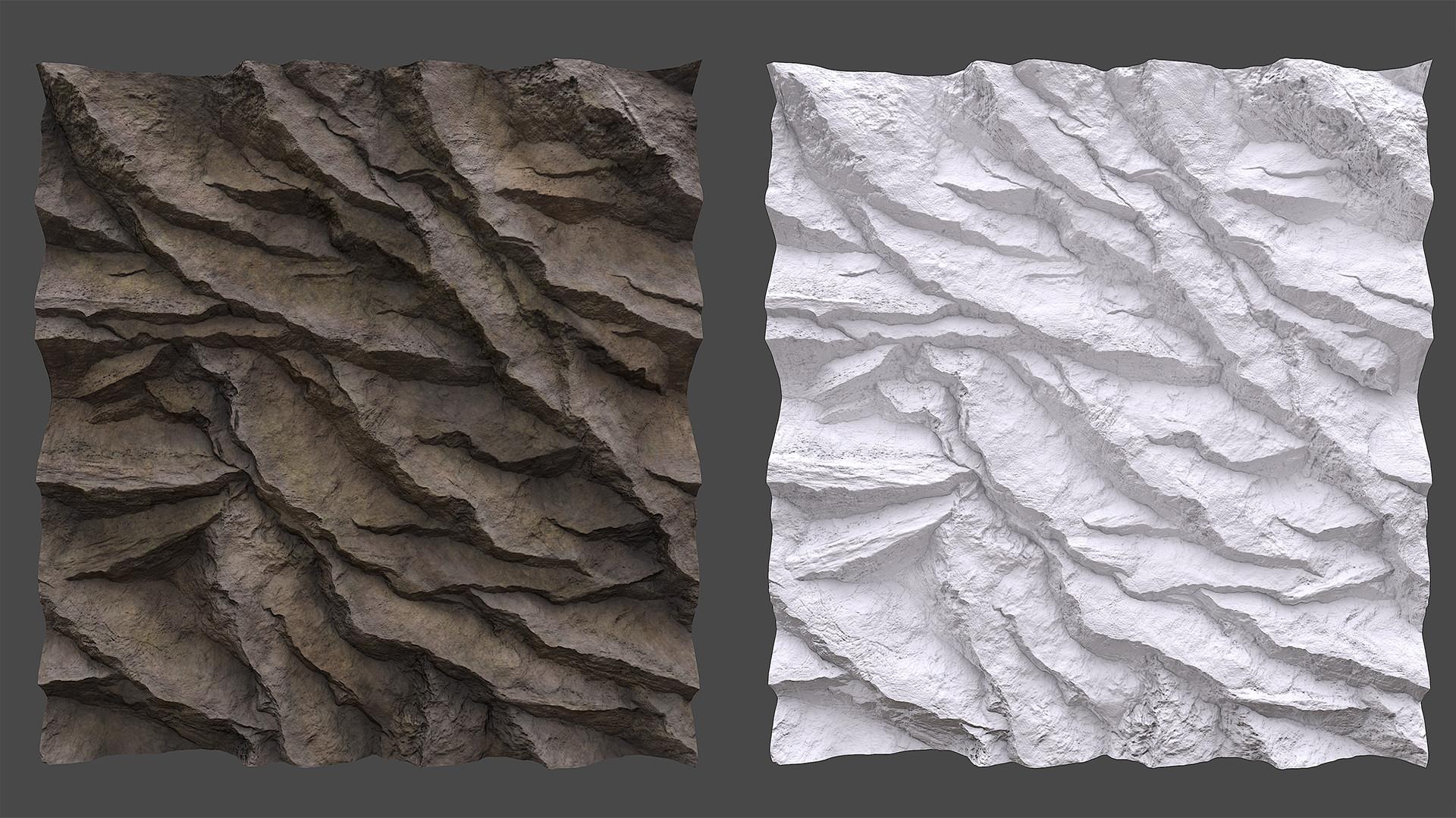 Najim filali saksak cliff texture 2k
