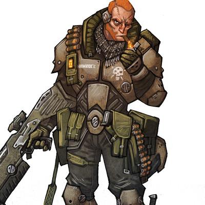 Johan egerkrans trooper