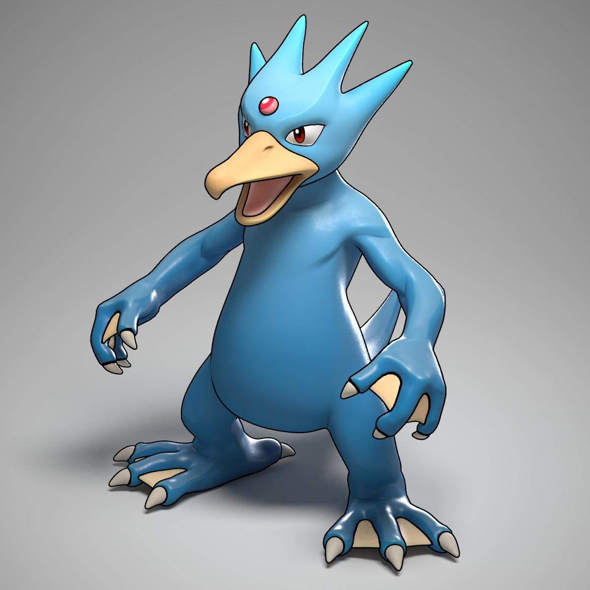 Simon Telezhkin Golduck Pokemon