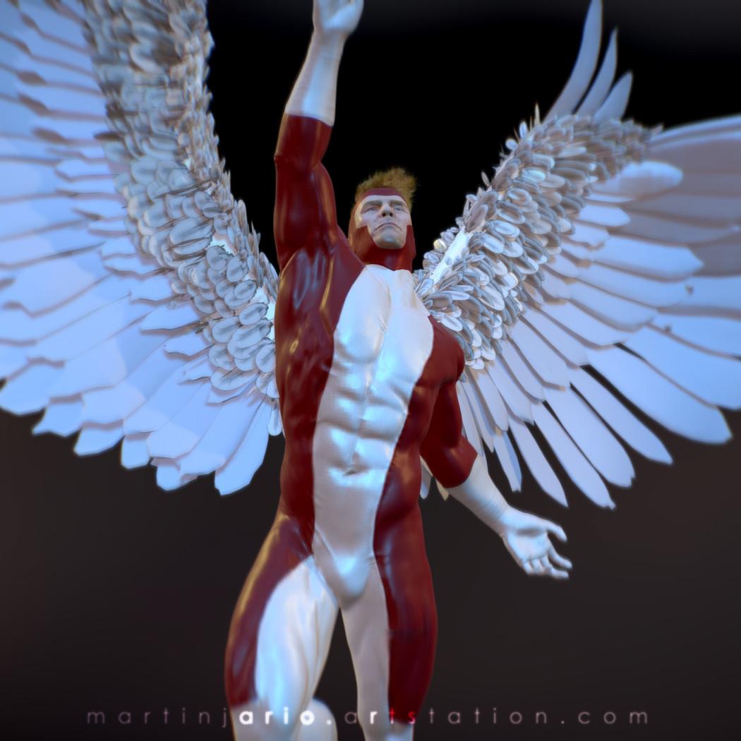 Martin jario martinjario angel 2 fanart