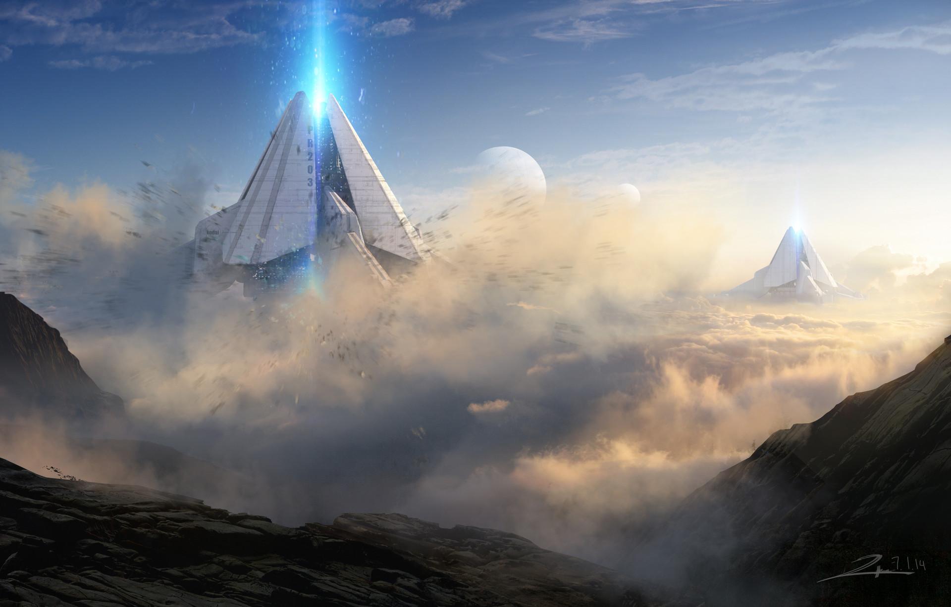 Tu bui planetary core mining above horizon 01 blast